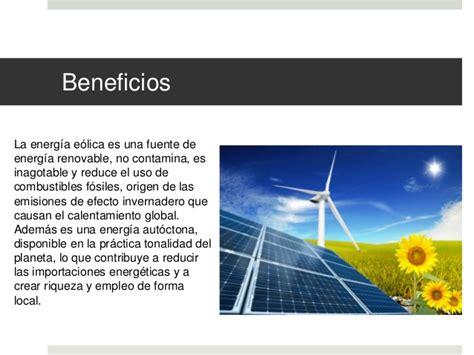 Conoce mas sobre la Energia renovable eolica