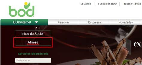 Conoce tu Banco Occidental de Descuento  BOD  en línea