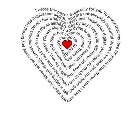 ¿Conoces los CALIGRAMAS de Amor ? ¡Tienes que ver éstos!