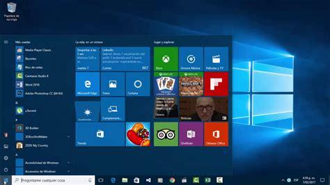 Conociendo Entorno de Windows 10, partes de la ventana ...