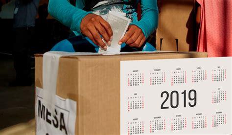 Conozca el calendario electoral para 2019 en Colombia