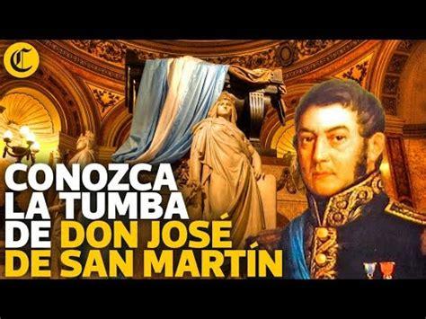 Conozca la tumba de Don José de San Martín   YouTube