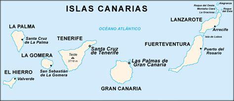 ¡Conozcas a Canárias y Asturias!: Mapas de las Islas Canarias