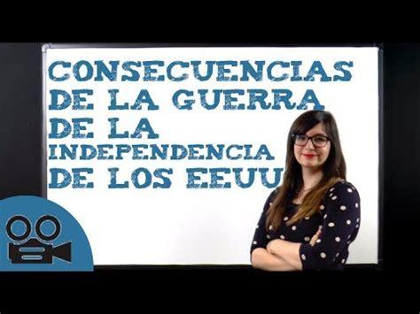 Consecuencias de la guerra de la Independencia de los ...
