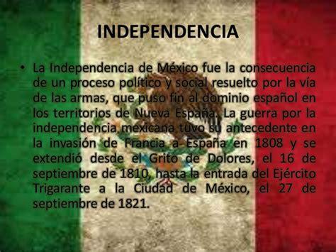 Consecuencias independencia