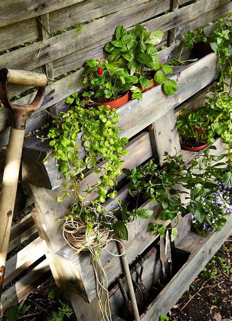 Consejo: Integra un palé como parte de la decoración ...