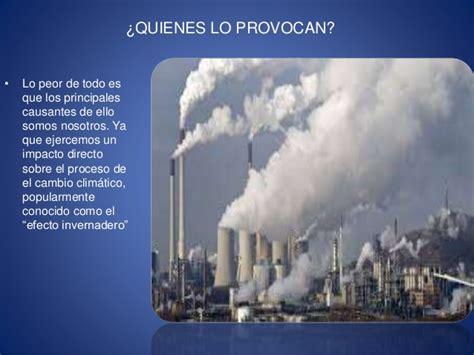 CONSIDERANDO EL CAMBIO CLIMATICO
