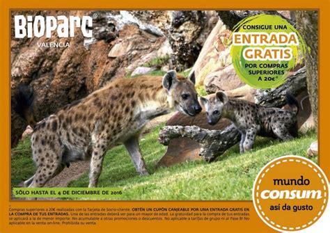 Consigue tu entrada gratis para Bioparc hasta el 4/12 ...