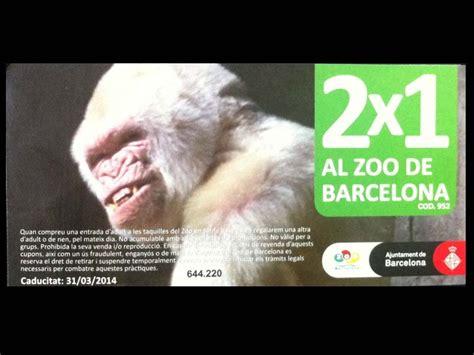 Consigue tus entradas 2x1 para el Zoo de Barcelona