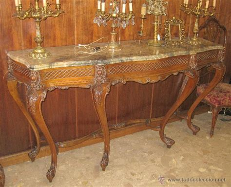 consola mueble valenciano estilo luis xv anteri   Comprar ...