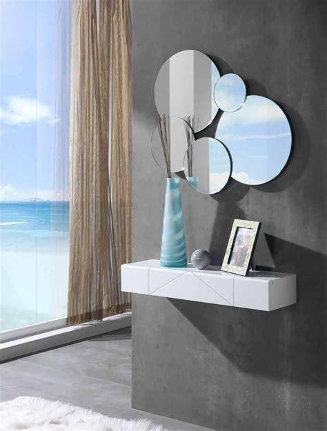 Consola y espejo moderno F 16/07 | Espejos de pared ...