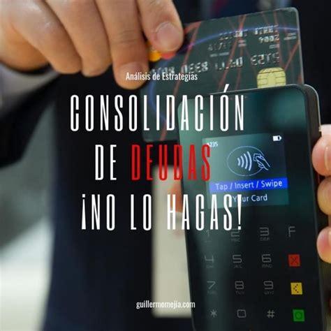 Consolidación de deudas – Deudas de tarjetas de crédito ...