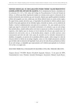 CONSTANCIA DE RATIFICACION DE FIRMAS