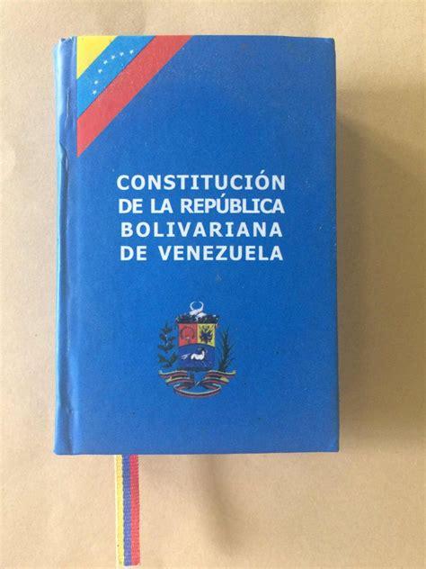 Constitución De La Republica Bolivariana De Venezuela   Bs ...