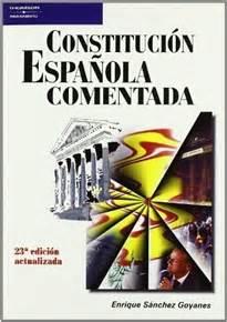 Constitución española comentada   9788428329033   ENRIQUE ...