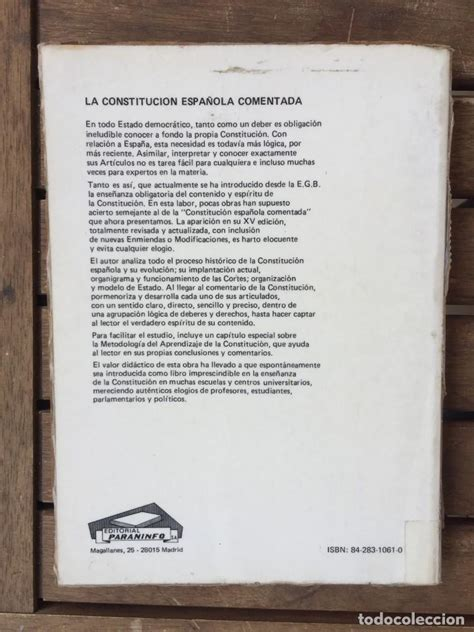constitucion española comentada   Comprar Libros de ...