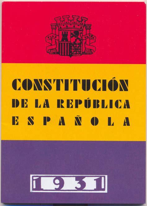 Constitución española de 1931   Wikipedia, la enciclopedia ...