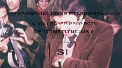Constitución Española de 1978 HISTORIA   YouTube