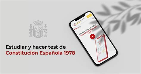 Constitución Española — Test — Audio — Esquemas — para ...