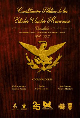 CONSTITUCION MEXICANA COMENTADA PDF