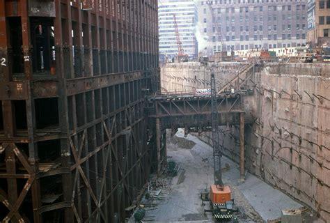 Construction view of the original World Trade Center South ...
