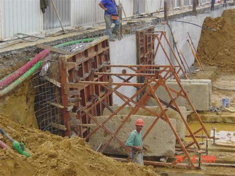Constructora Eshor  Detalle de Encofrado de Muro por Batac ...