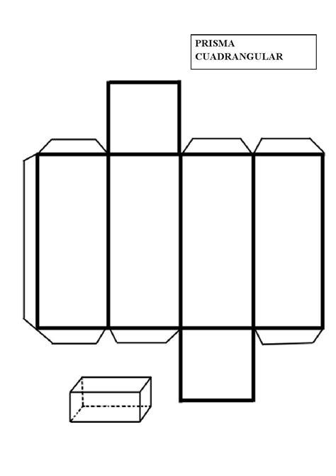 Construir un prisma cuadrangular | Figuras geometricas ...