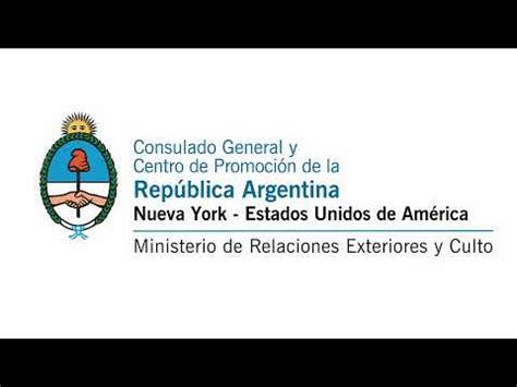 Consulado Argentino en Nueva York | 25 de Mayo de 2020 ...