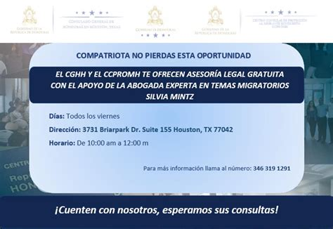 Consulado General de Honduras en Houston   Home | Facebook