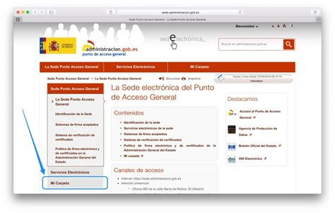 Consulta con certificado electrónico – Enteratec