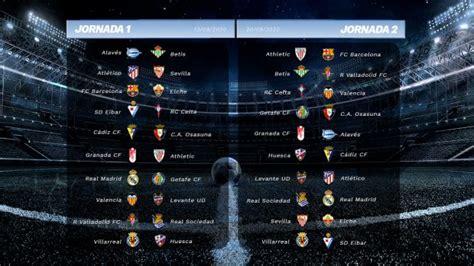 Consulta el calendario de todas las jornadas de la Liga ...