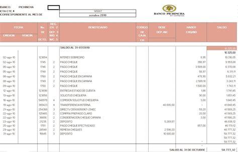 CONTABILIDAD COMPUTARIZADA: ESTADO DE CUENTA
