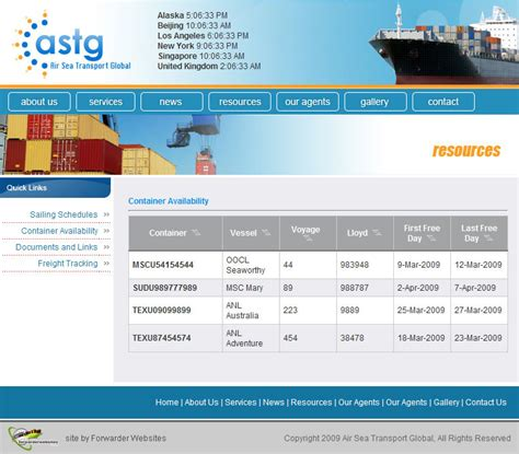 Container Tracking: MAERSK Container Tracking