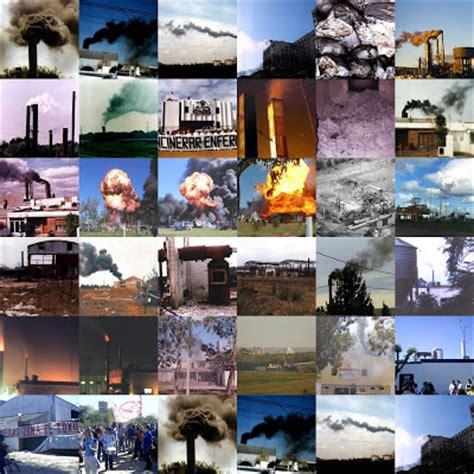 Contaminacion Ambiental: Tipos de contaminación