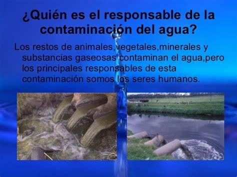 Contaminación del agua  Lidia, Leire y Maite 3ºE