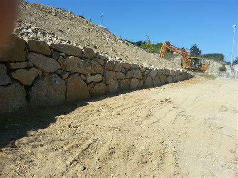 Contención de Tierras. Muro Escollera   Excavaciones ...