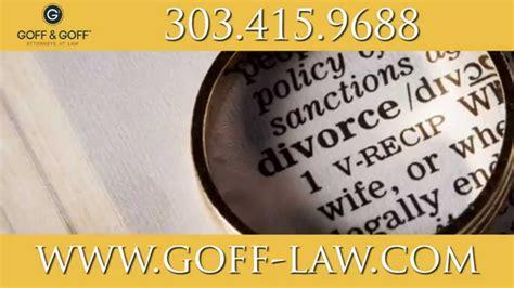 Contested Divorce | Boulder Divorce Attorney Lance Goff ...