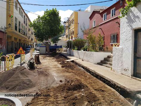 Continúan las obras de mejora del alumbrado público en San ...