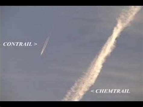 CONTRAIL vs CHEMTRAIL 101   YouTube