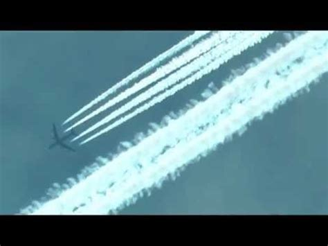 Contrails vs Chemtrails   A video comparison   YouTube