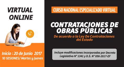 Contrataciones de Obras Publicas   Curso Virtual   R&C ...