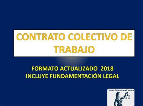 CONTRATO COLECTIVO DE TRABAJO   derechoenmexico.mx
