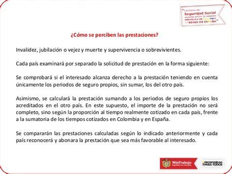 Convenio de Seguridad Social entre Colombia y España