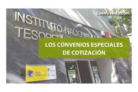 Convenios Especiales con la Seguridad Social   Jubilación ...