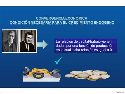 Convergencia económica: condición necesaria para el ...