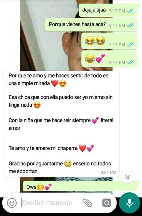 Conversaciones whatsapp de amor | Conversaciones whatsapp