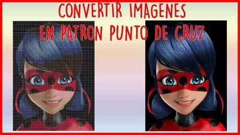 CONVERTIR IMAGENES EN PATRONES PARA BORDAR PUNTO DE CRUZ ...