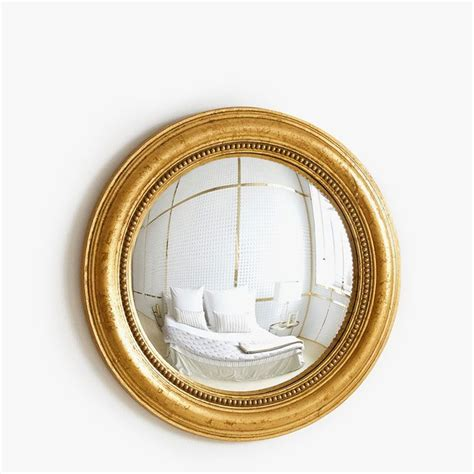 CONVEX MIRROR WITH GOLD FRAME   | Zara Home Hungary