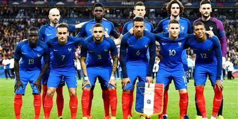 Convocados de Francia para el amistoso contra Colombia ...