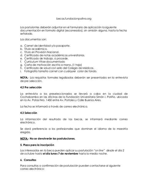 Convocatoria becas Post grado Suiza y Belgica 2017 «» 2019